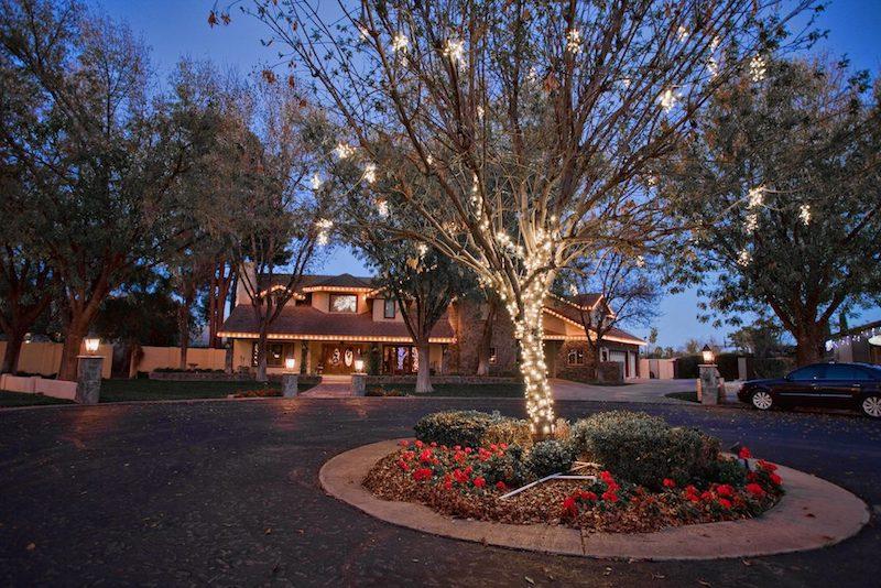 Custom Residential Christmas Light Design