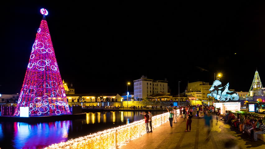 part of christmas market in nice