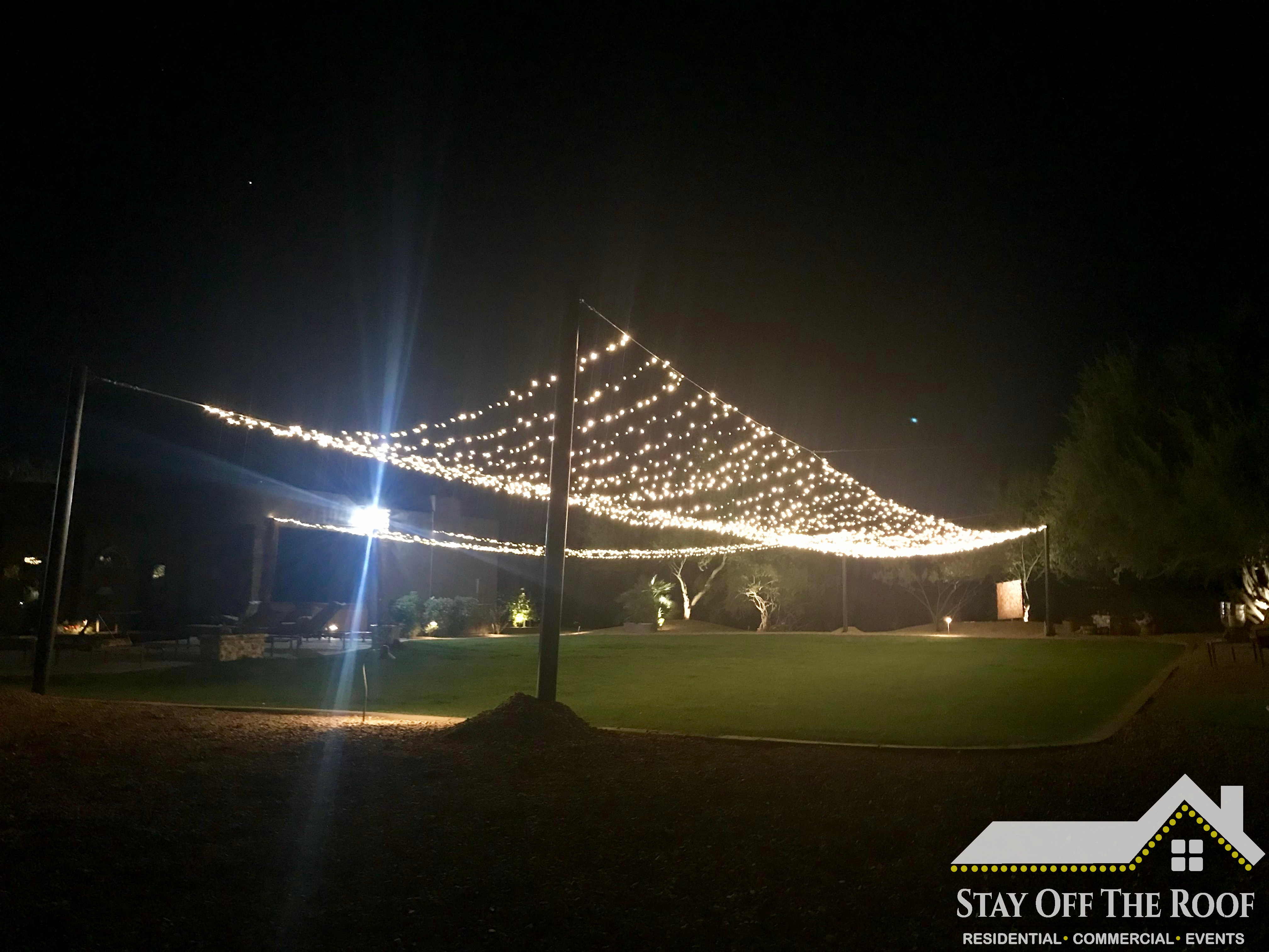 Wedding Ceremony Lights Phoenix AZ