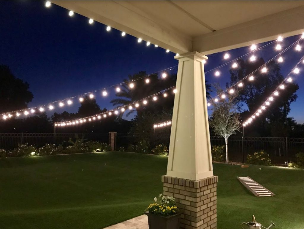 Outdoor Lighting Ideas For Patios Patio Lighting Ideas